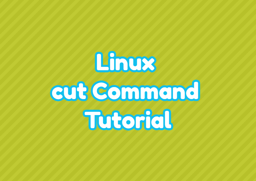 Linux cut Command Tutorial