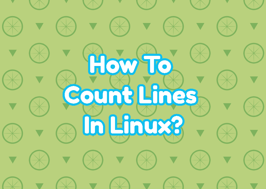 How To Count Lines In Linux?