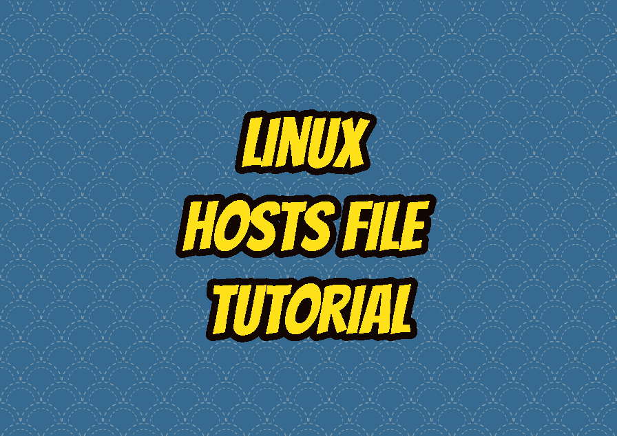 Linux Hosts File Tutorial